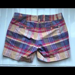 NWOT Jcrew super cute  plaid shorts